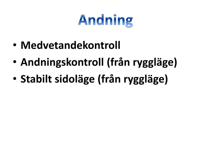 Andning