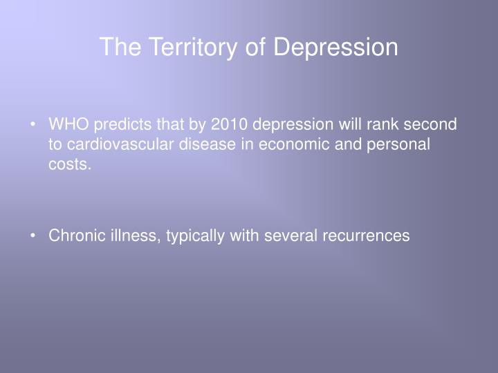 The territory of depression