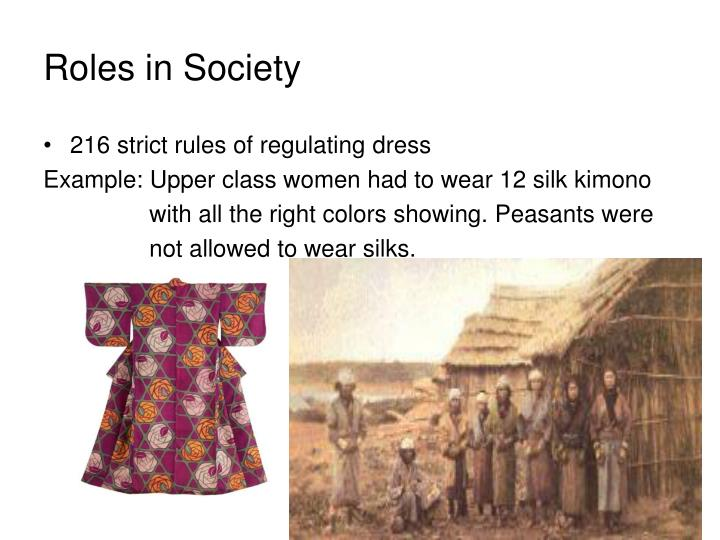 Roles in Society
