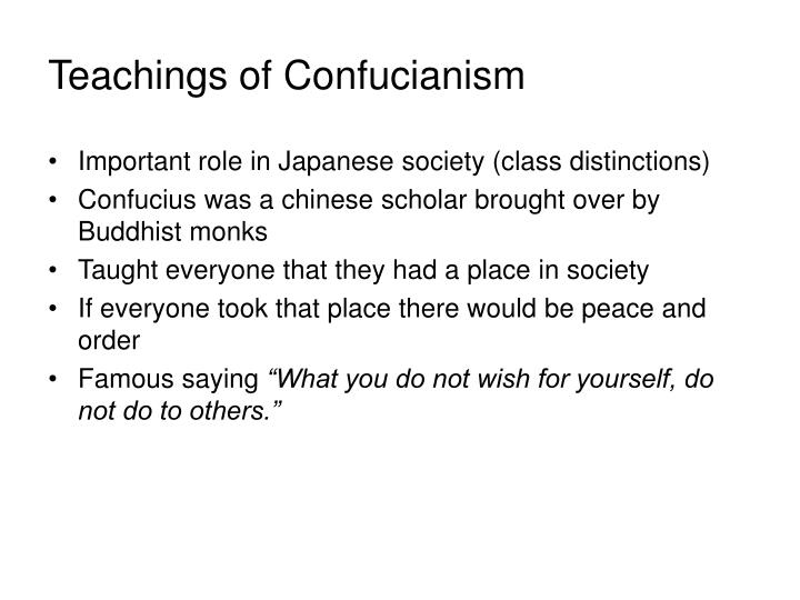 Teachings of Confucianism