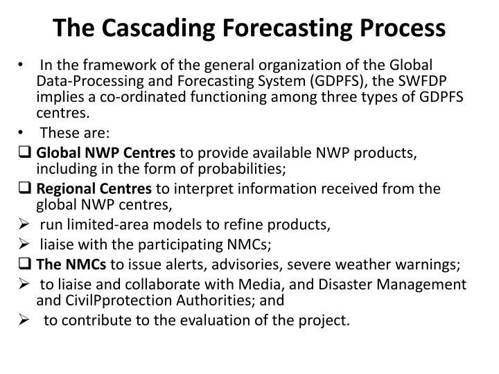 The Cascading Forecasting Process