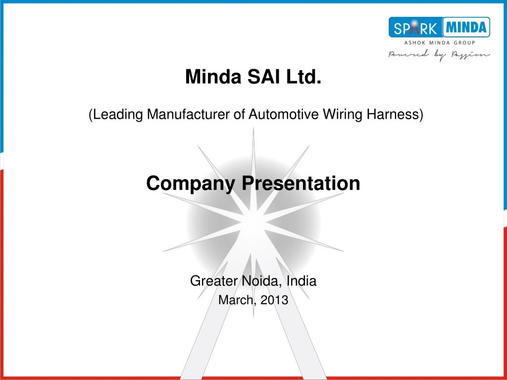 Ppt Greater Noida India March 2013 Powerpoint Presentation Id Wiring Harness Industry In Chennai Slide1 N
