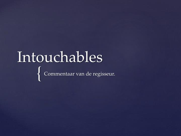 intouchables n.