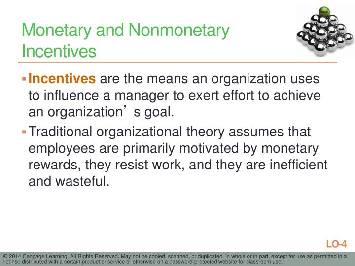 Monetary and Nonmonetary