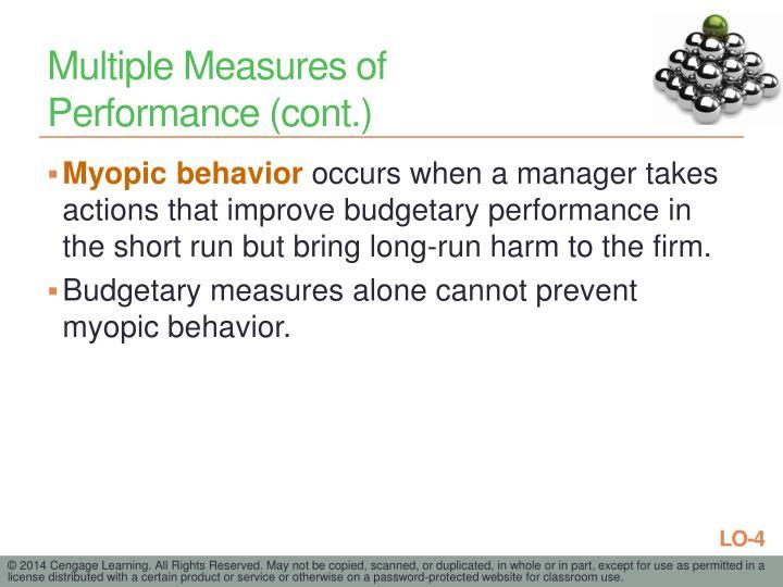 Multiple Measures of