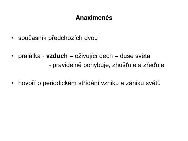 Anaximenés