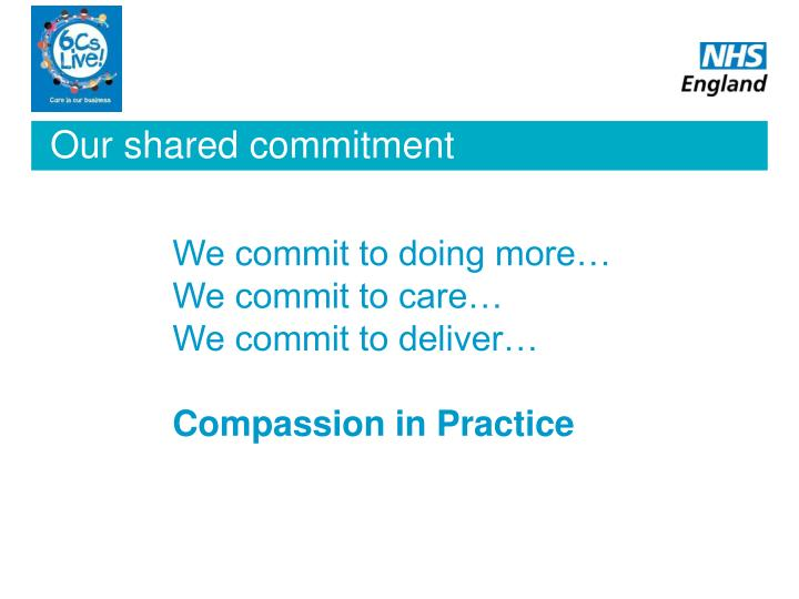 Our shared commitment