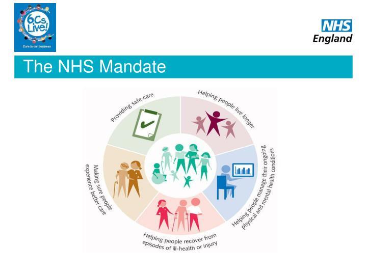 The nhs mandate