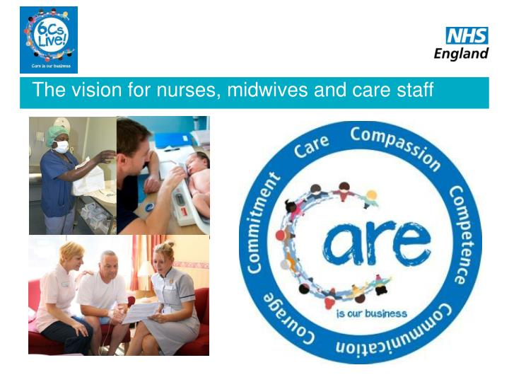 The vision for nurses, midwives and care