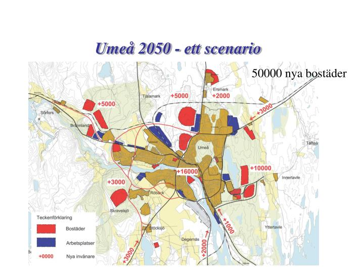 Umeå 2050 - ett scenario