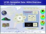 ucsb geospatial data ngda overview http www ngda org