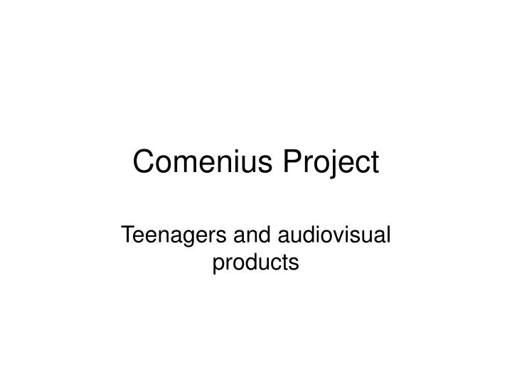 comenius project n.