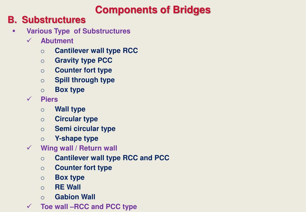 PPT - Engineering System ENG001 Case study on BRIDGES