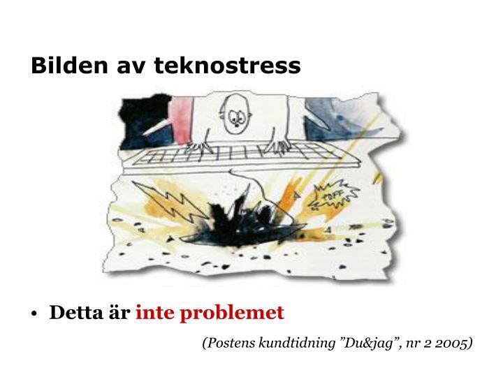 Bilden av teknostress