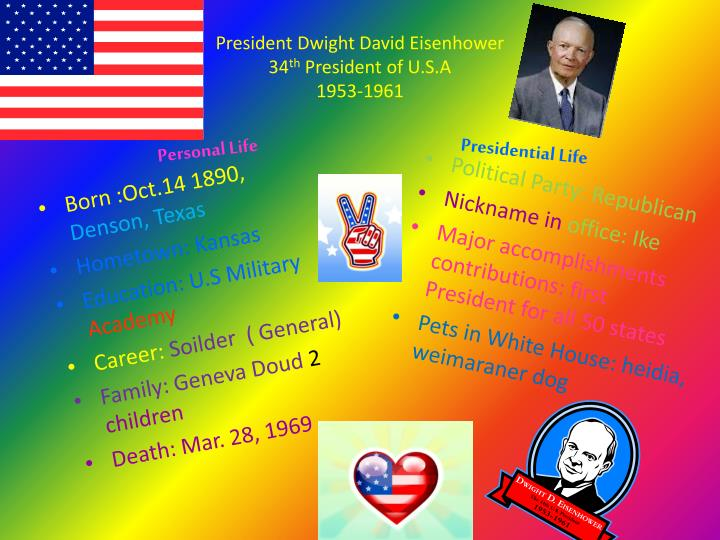 President Dwight David Eisenhower