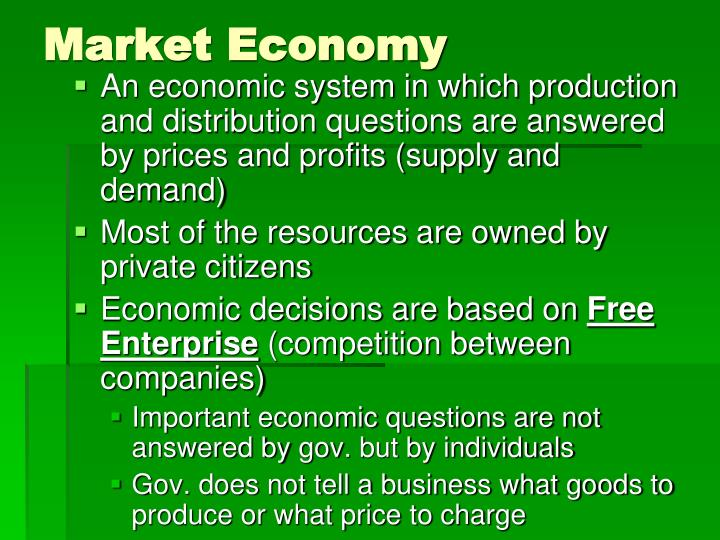 ppt economic systems powerpoint presentation id 3131470