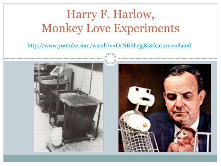 Harry F. Harlow,