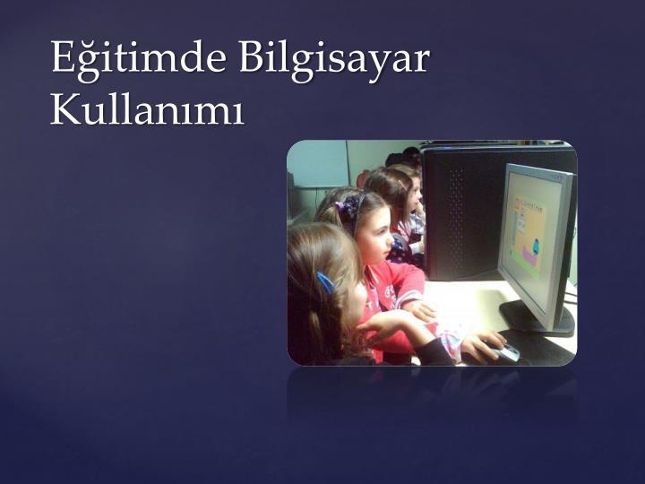 Eğitimde Bilgisayar