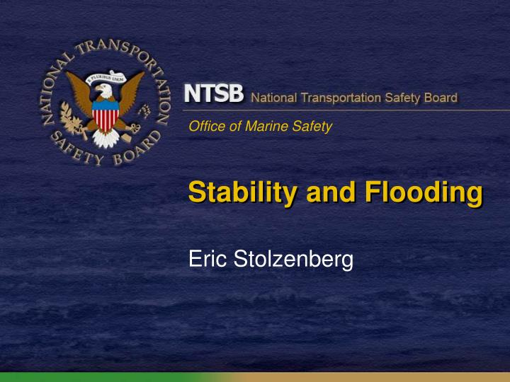 stability and flooding n.