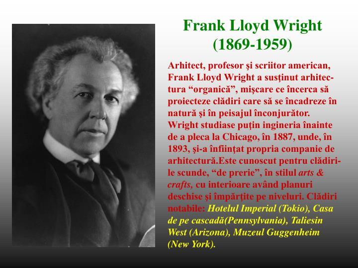Arhitect, profesor şi scriitor american,