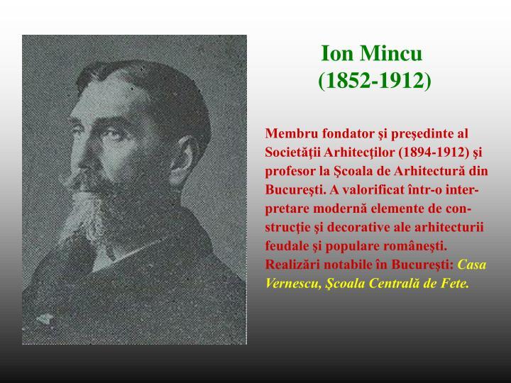 Membru fondator şi preşedinte al