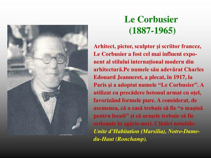 Arhitect, pictor, sculptor şi scriitor francez,