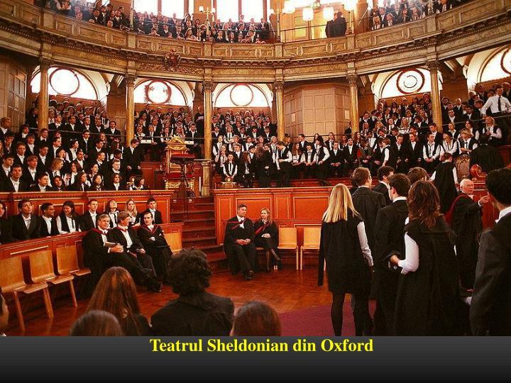 Teatrul Sheldonian din Oxford