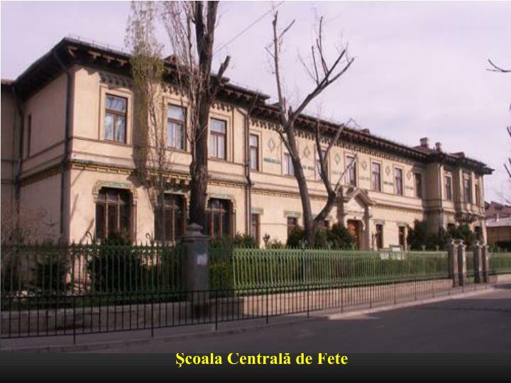 Şcoala Centrală de Fete