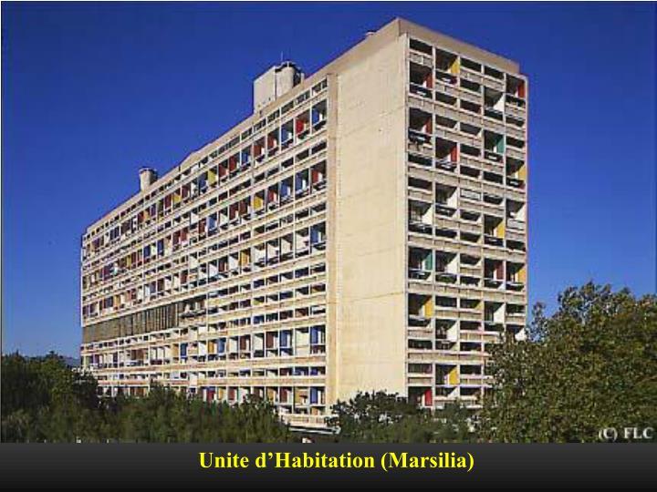 Unite d'Habitation (Marsilia)