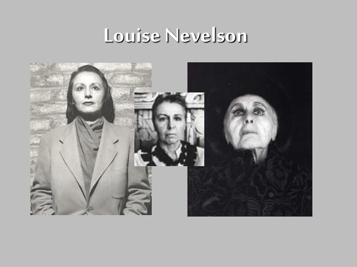 louise nevelson n.