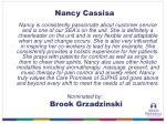nancy cassisa