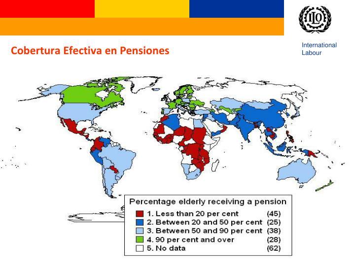 Cobertura Efectiva en Pensiones