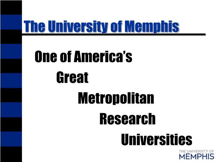 The university of memphis1