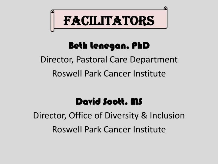 Facilitators