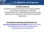 1 objetivos del programa