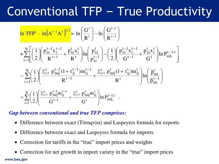Conventional TFP