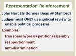 representation reinforcement