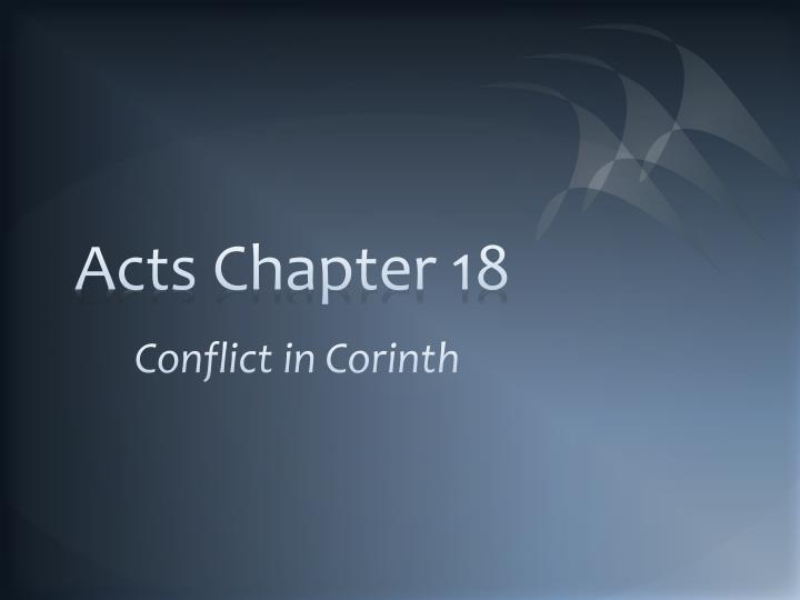 acts chapter 18 n.