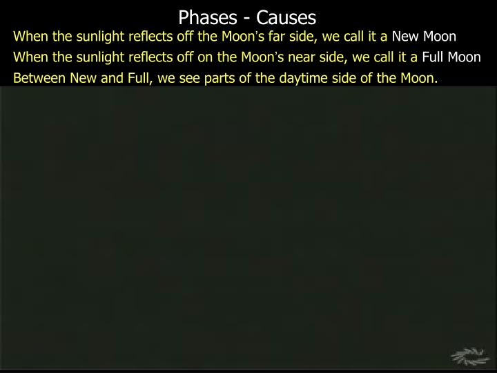 Phases - Causes