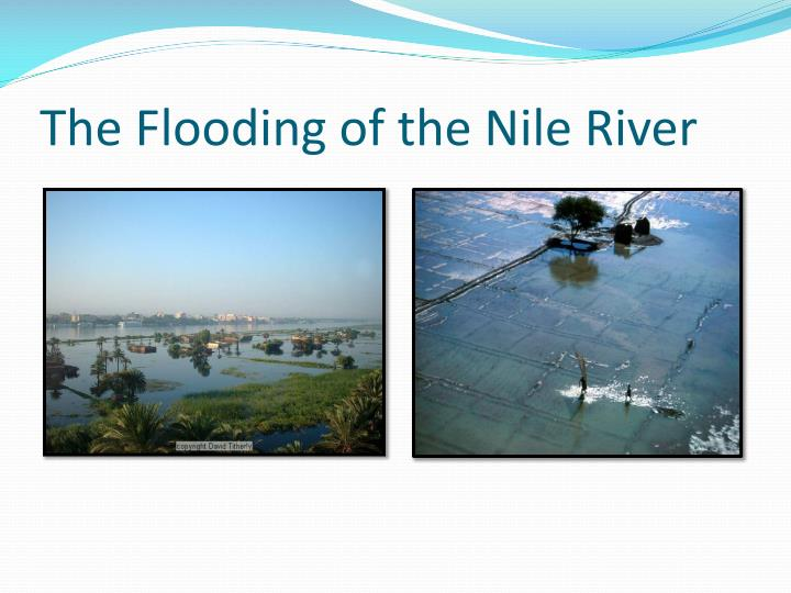 The Flooding of the Nile River