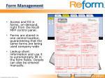form management