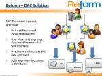 reform dac solution