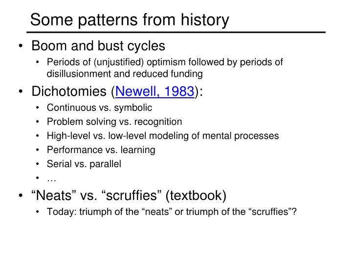 Some patterns