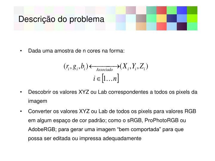 Descri o do problema1