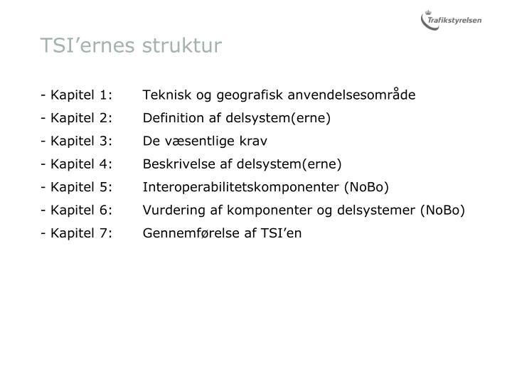 TSI'ernes struktur