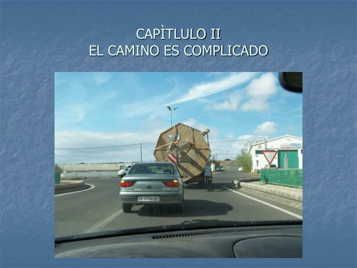 CAPÌTLULO II
