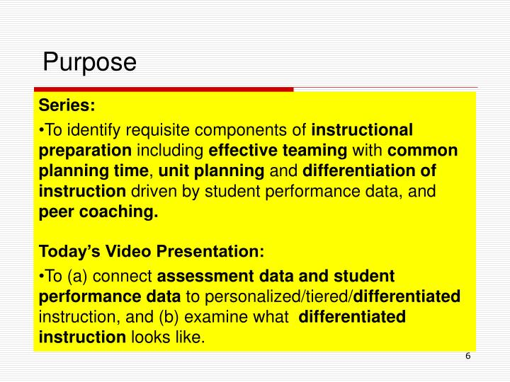Ppt Differentiated Technical Assistance Technical Teamdtat Video
