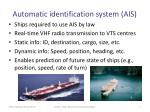 automatic identification system ais