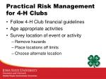 practical risk management for 4 h clubs3