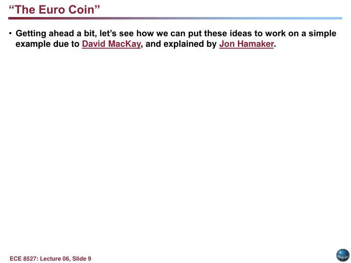"""""""The Euro Coin"""""""